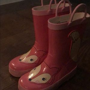 Other - Rain boots 🦊